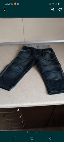 Spodnie chłopięce jeansy r.86