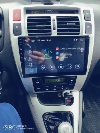 Hyundai Tucson 2006 - 2013 radio tablet wyświetlacz android + carplay