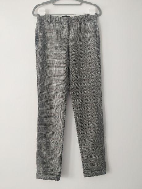Wełniane spodnie Massimo Dutti