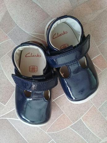 Мокасины, туфли clarks на 1-1,5 года