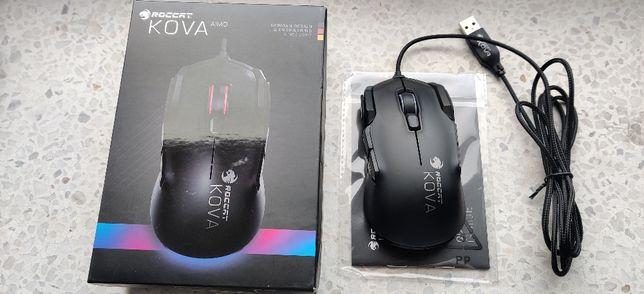 czarna mysz myszka gamingowa Roccat Kova AIMO super stan