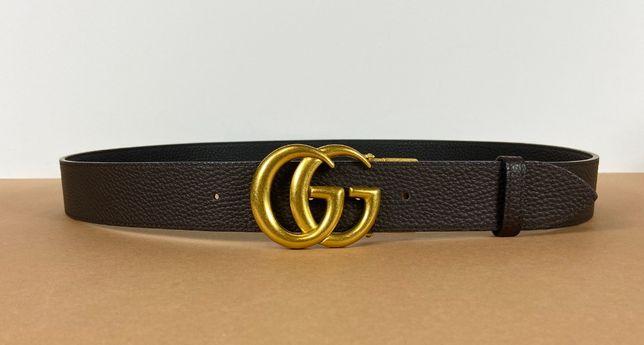 Мужской кожаный ремень Gucci (Гуччи)