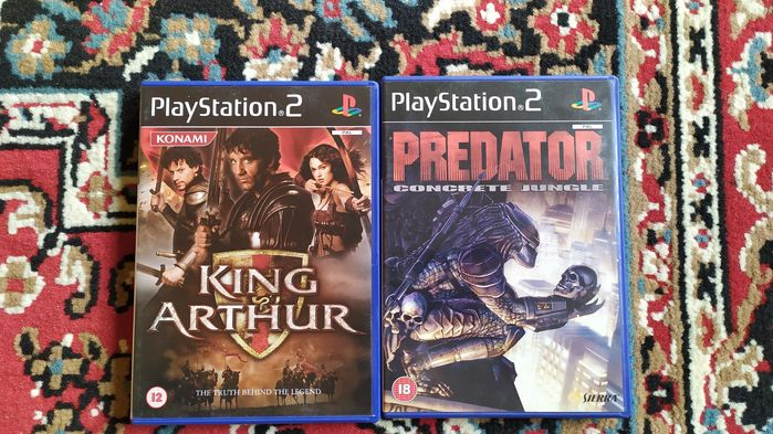 Predator i King Arthur PlayStation 2 Hrubieszów - image 1
