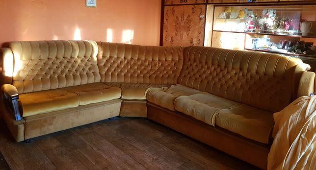 Sofa narożna+fotel