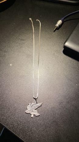 Naszyjnik Lil Peep custom srebro 925