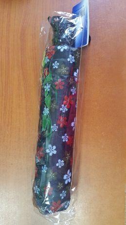 Новый складной зонт женский компактный полуавтомат