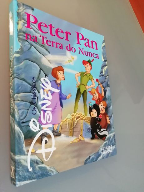 PETER PAN Na Terra Do Nunca - Novo!
