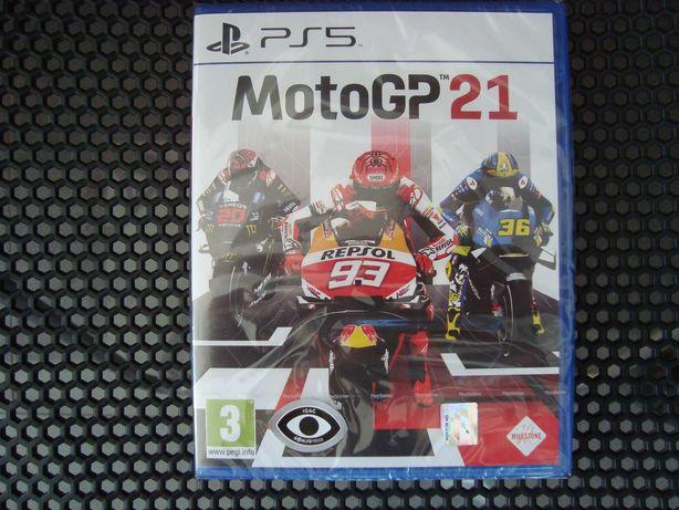 MotoGP 21 PS5 Novo Selado