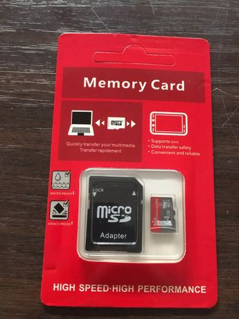 Cartão memória Micro SD card 256GB + Adaptador