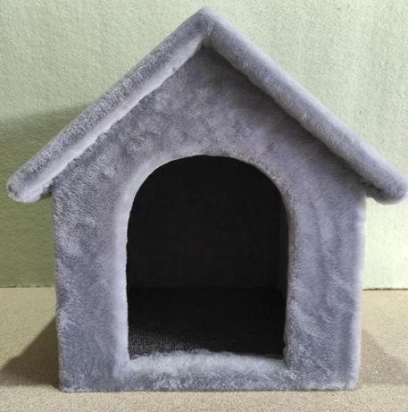 Будка-домик из меха для собаки . Ручная работа. Vilka-624