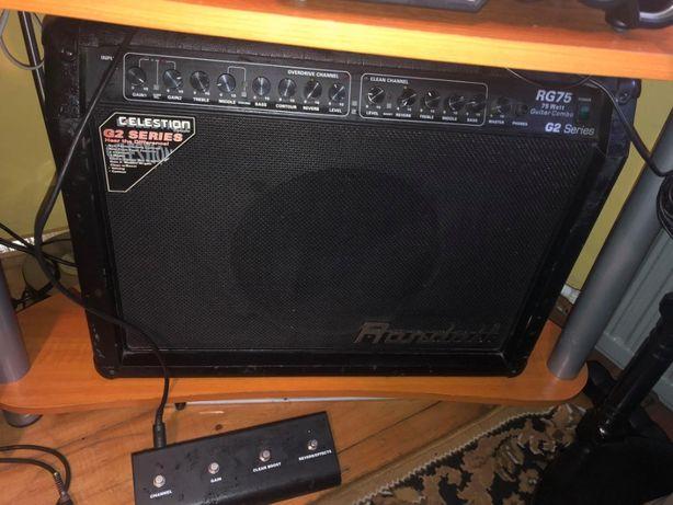 Okazja Wzmacniacz do gitary elektrycznej Randall RG75 g2