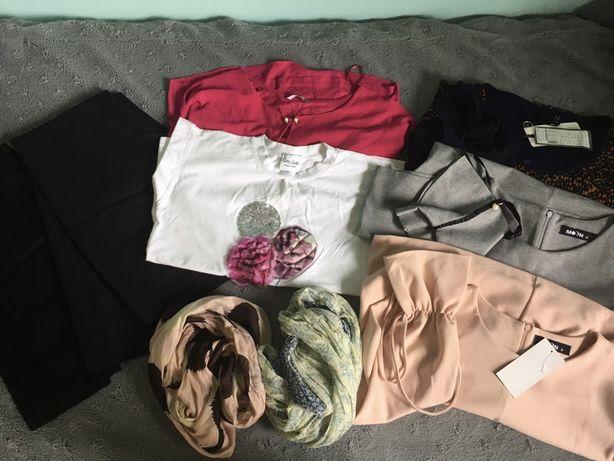 Ubrania damskie ciuchy rozm s/m 36/38 sukienki spodnie bluzki