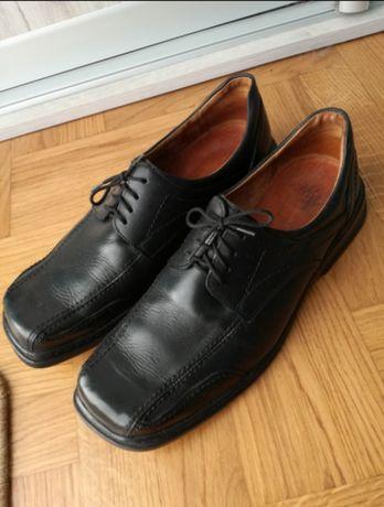 Buty skórzane męskie