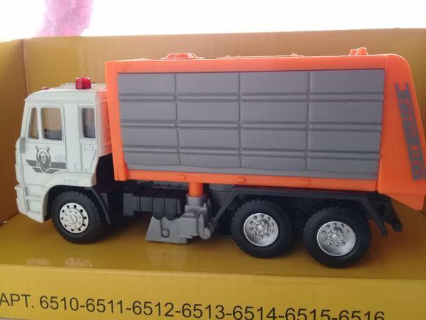 Модель автомобиля мусоровоз DAF