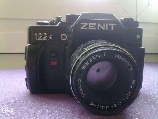 Máquina fotográfica zenit 122k