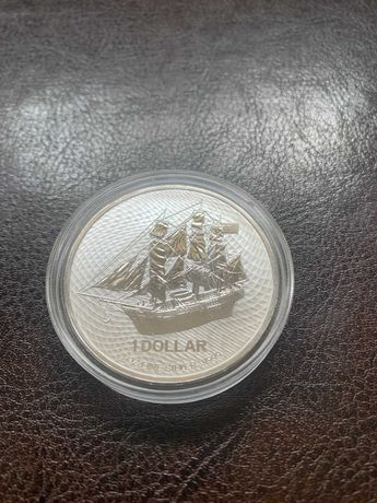 Moneta srebrna BOUNTY 2021 COOK ISLANDS