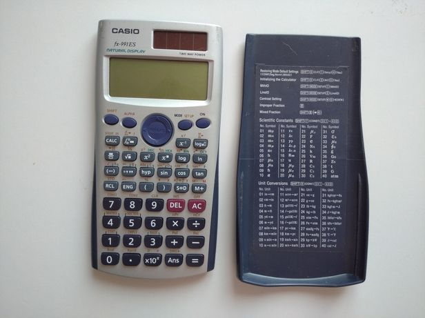 Kalkulator matematyczny casio