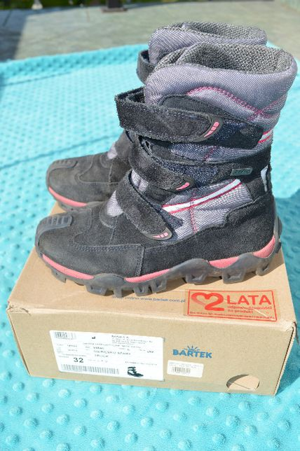 Buty dla dziewczynki zimowe Bartek rozm 32, buciki dziewczęce zima