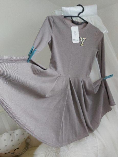 Новое! Отличное платье для девочки на рост 146,152, 158 Мевис