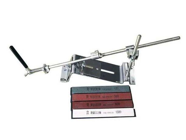 Точилка Для Ножей  Ruixin Pro 3+4 Камнями Профессиональная, Нержавейка