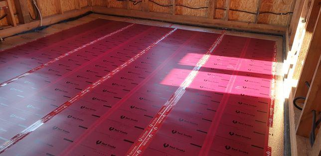 Ogrzewanie domów folią na podczerwień RED SNAKE