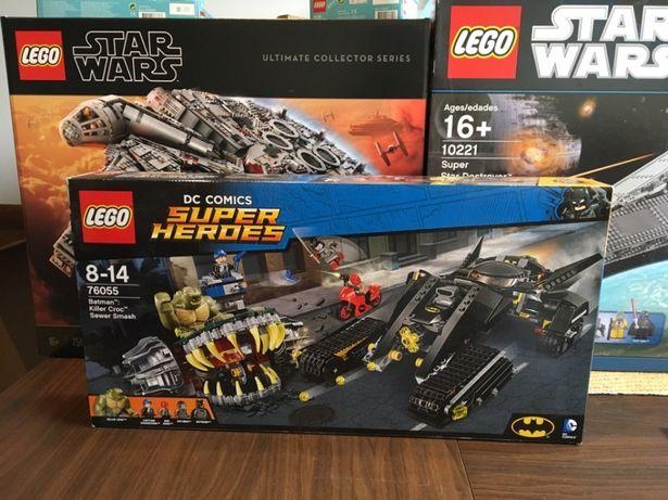 Lego 76055 Super Heroes Batman Killer Crock Nowe Oryginalne Lego