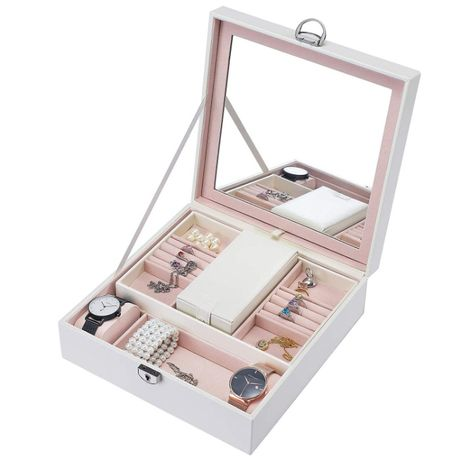 Szkatułka pudełko organizer etui na biżuterię C1
