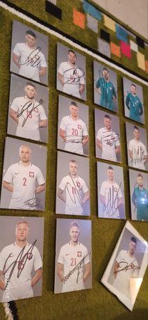Autografy reprezentacji Polski