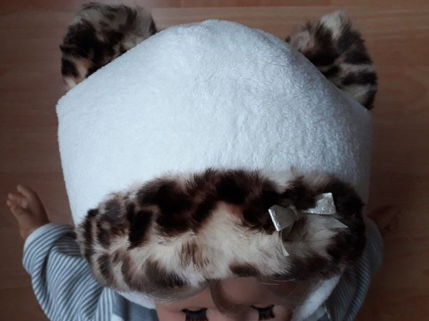 Тепла зимова шапочка 46розмір