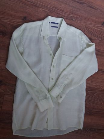 Koszula lniana męska