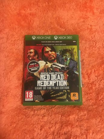 Red Dead Redemption GOTY xbox 360& x box one