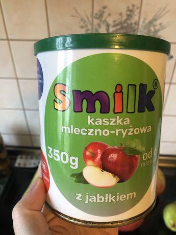 Kaszka mleczno-ryzowa Smilk bezglutenowa z jablkiem 350g