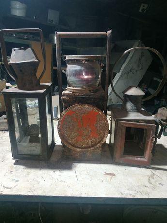 Колекція старовинних фонариків