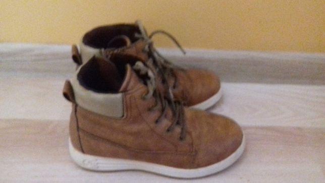 Buty chłopięce r. 31 wiązane wiosna/jesień