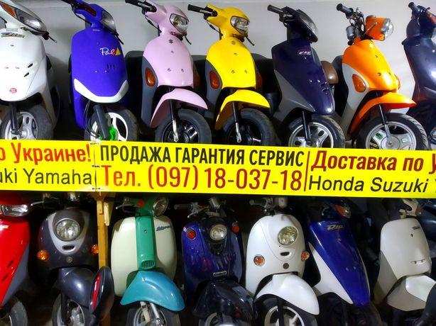 Скутер Хонда Дио белый 18 СКЛАД без пробега мопед из Японии