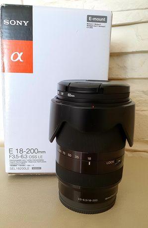 Obiektyw Sony E 18–200 mm OSS LE
