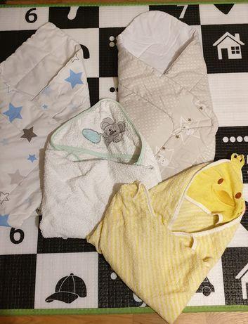 2 rożki i 2 ręczniki