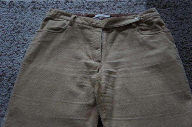 Spodnie sztruksowe Tatuum r. 40 Jak nowe!