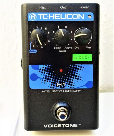TC Helicon H1 вокальный процессор гармонайзер