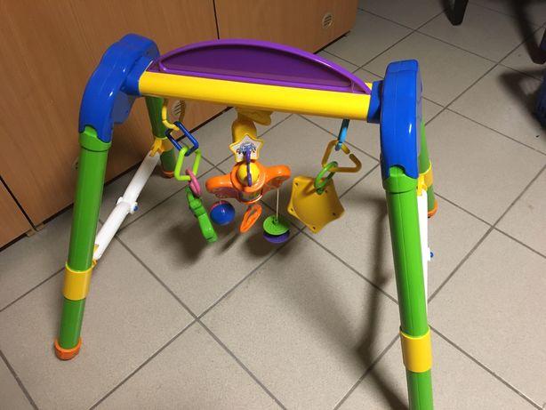 Stojak edukacyjny, zabawki, mata dla niemowląt