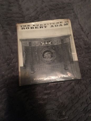 Livro antigo Robert Adam história do mobiliário