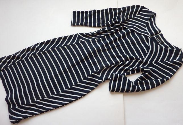 WAREHOUSE ołówkowa sukienka w paski 36