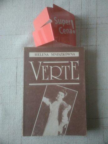 """książka """"Verte"""" cz. 1 Helena Mniszkówna"""