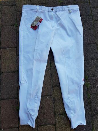 Bryczesy spodnie do jazdy konnej damskie caldene 42
