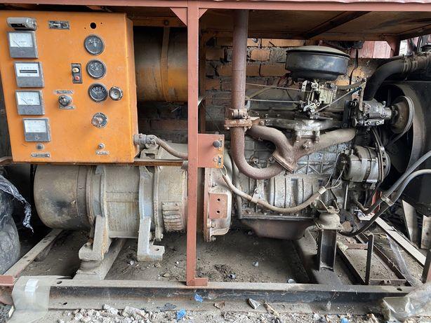 Электростанция ( генератор) бензиновая стационарная 16 кВт