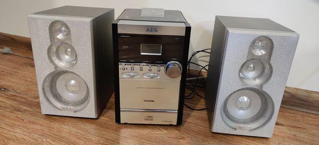 Mini wieża AEG, Stan BDB, CD RADIO, wys. Pobranie