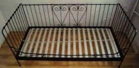 Łóżko metalowe ikea