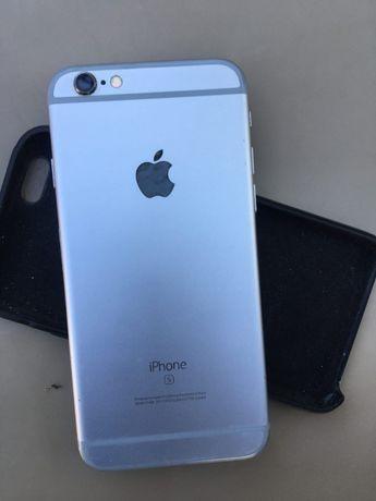 Продам Iphone 6S + беспроводные наушники Motorola