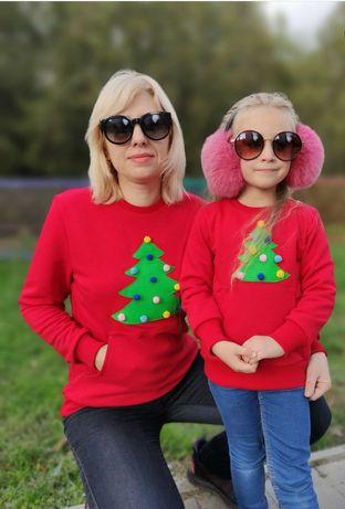 Парні світшоти мама/дочка