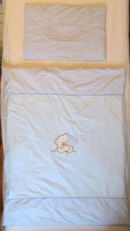 Pościel / Poszewki na kołderkę i poduszkę dla maluszka firmy Mamo+Tato